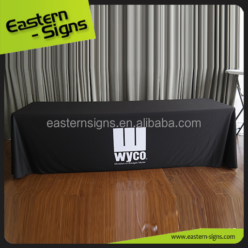 Quick Show Customized Printed Banner Washable Washable Vinyl Table Cloth