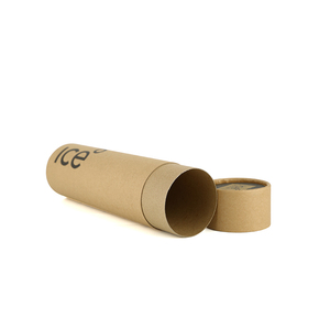 Biodegradable cylinder kraft paper tube for packaging recyclable paper core tube