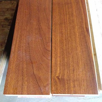 Wholesale Best Price UV 15mm Black Walnut Parquet Wood Flooring Prices