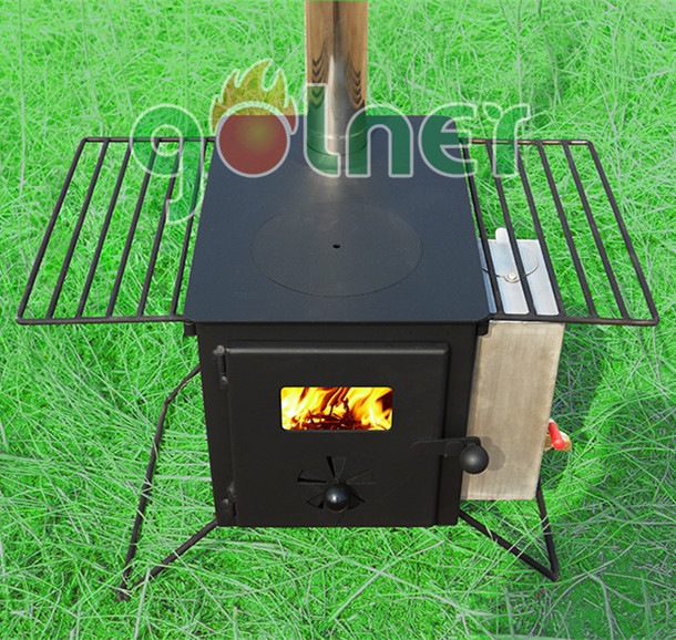 BBQ/Camping outdoor cold rolled steel wood burning stove,wood burning stove with water jacket,wood burning stoves and fireplace