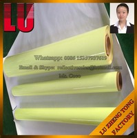 Yellow Green Luminous Sticker for Safety Signs Photoluminescent Film Glow In The Dark Vinyl Sheeting