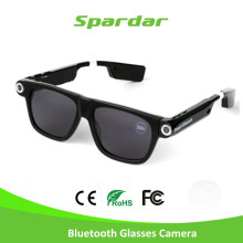 720P MP3 bluetooth HD DVR Driver Recorder Mini sunglasses camera