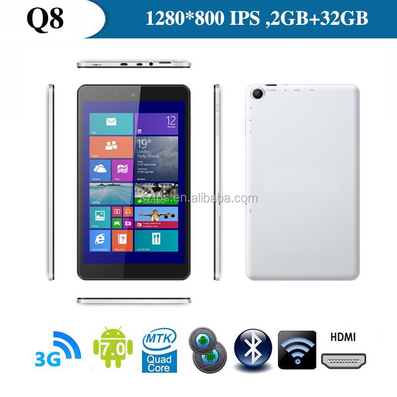 High Quality Android <strong>Tablet</strong> 1920*1200 Resolution 8 Inch 3G <strong>Tablet</strong> Pc Quad Core 5MP Camera