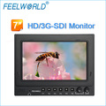 On-Camera 7-Inch HD DSLR Monitor - 1024x600 TFT Screen with HDMI SDI inputs and Peaking Focus Histogram