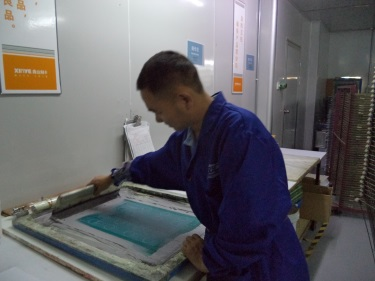 Silk-screening