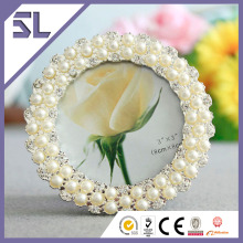Funny Decorative Pearl Weddng Mini Picture Frame