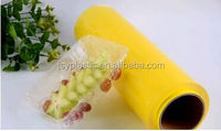 China top 5 high quality manufacturer wholesale best fresh pvc cling film food grade plastic wrap