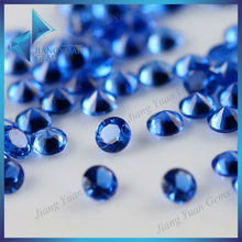 2014 High Quality Round Natural Cut 113# Blue Spinel Gems