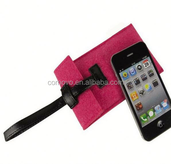 Magic Girl felt felt Hard Case Cell Phone Cover Sleeve for iphone 5 5G 5th