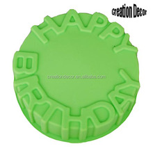 HAPPY BIRTHDAY letter silicone cake bakeware baking tin