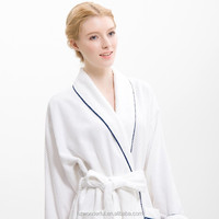 white single layer microfiber sleepwear special dress for women