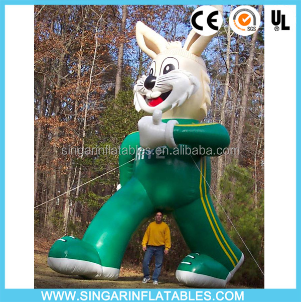 Giant Advertising Inflatables rabbit, custom cold air inflatable advertising Balloons