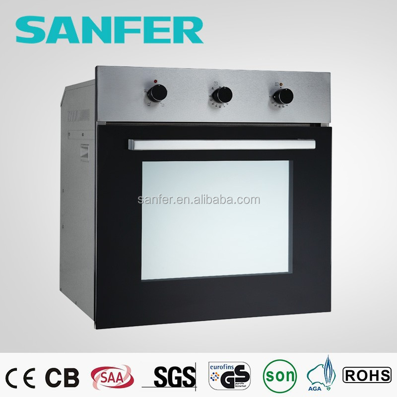 Square Safety Glass Door High Quality Kitchen Appliance Electric Oven
