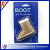 Car Fragrance Diffuse Lovely boot shape air freshener/ custom perfume pendant hanging top car air freshener