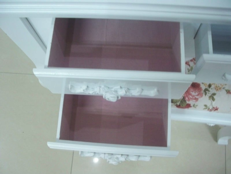 fashion mirrored dressing vanity