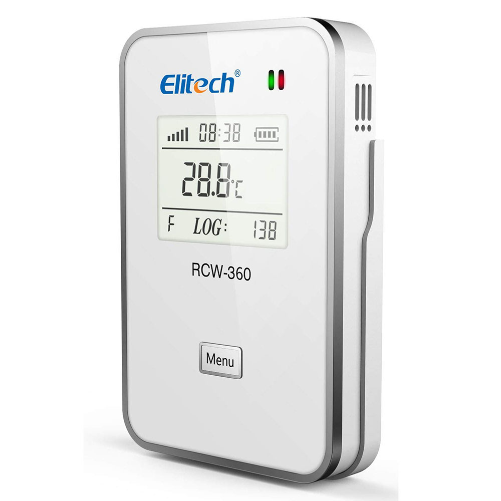 RCW-360 Elitech Remote recording <strong>temperature</strong> and humidity recorder