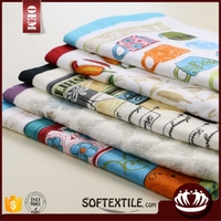 wholesale cheap cleaning custom printed cotton kitchen towel