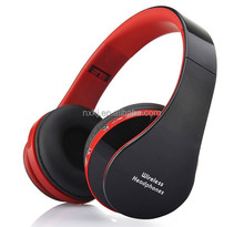 2015 delicate design Headband Stereo Wireless and Wired Bluetooth Headset with Microphone