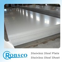 ASTM A480 no 8 mirror finish stainless steel sheet for water tank