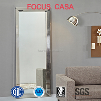 mirror furniture modern floor standing side mirror with frame
