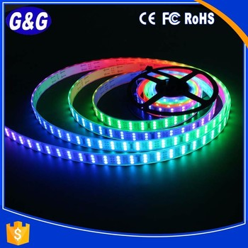 144pcs 5050 led 48 pixels per meter addressable led strip rgbw flexible led strip