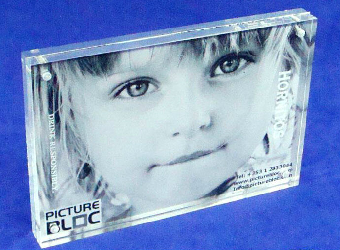2014 new style acrylic photofunia photo frame/plexiglass baby photo frame