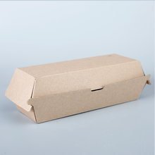 Customized Design food packaging paper hamburger box