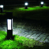 Wholesale garden led solar lamp portable wireless courtyard security light with motion sensor light