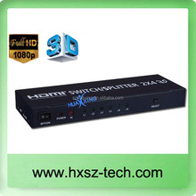 HDMI SWITCH Excellence HDMI Matrix 4 x 2 High Speed / SP-DIF / 4K