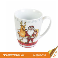 290cc Porcelain Mug with Chrismas Design Ceramic Coffee Mugs