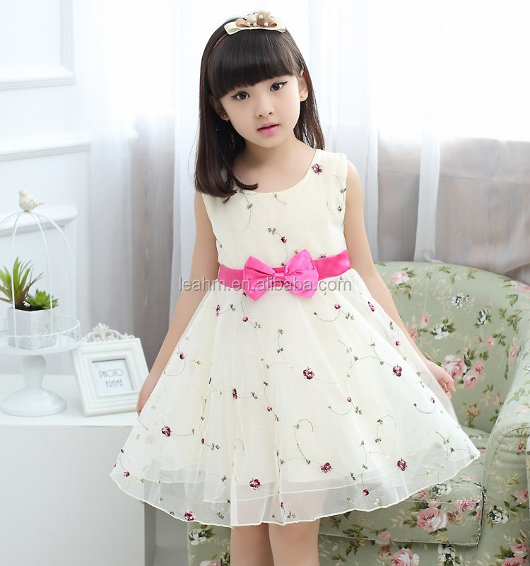 2016 New !!elegant fashion casual party dress for girls