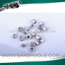 Diamond wire saw beads, high efficient diamond wire saw for stone cutting