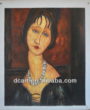 Amedeo Clemente Modigliani World Famous Artist Oil Painting