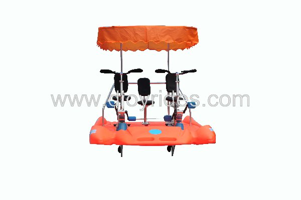 Amusement aqua bike for adults/water park aqua bike tricycle for family/park amusement water bike