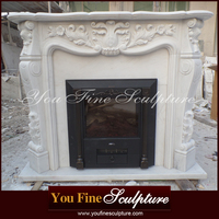 Decorative Exquisite Marble Fireplace Stove
