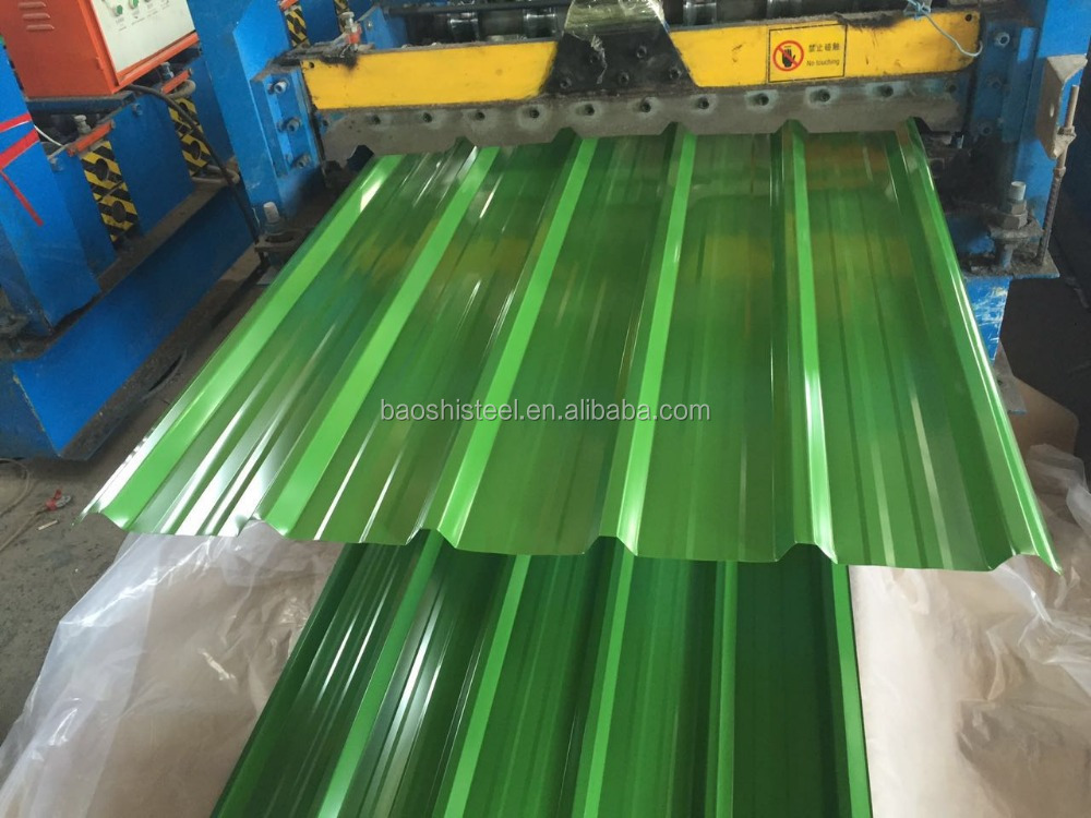 Low Price Metal Roofing Sheet Printed Corrugated Steel Sheet For Roof