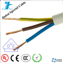 VDE 0281 Standard cable H05VV-F 4x1mm for automatic device
