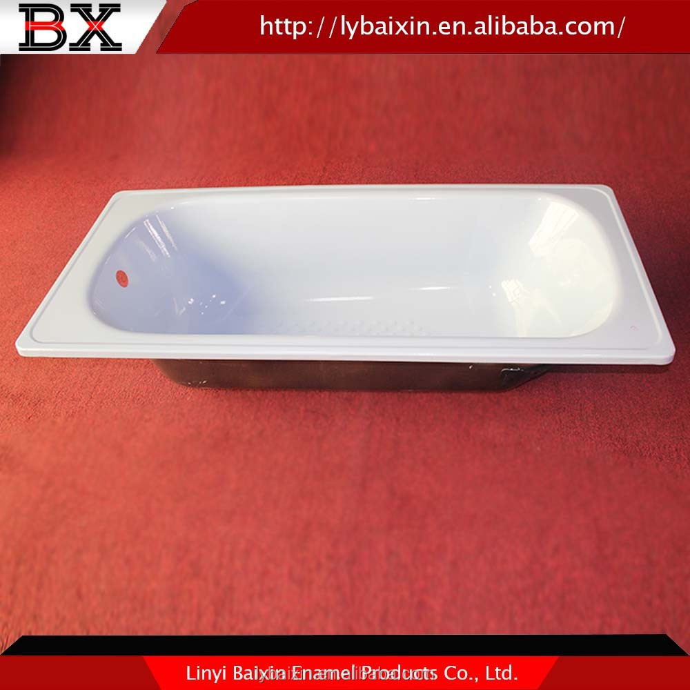 Alibaba China supplier enamel modern cast iron freestanding bathtub with,enameled steel bathtub,cast iron and steel bathtubs