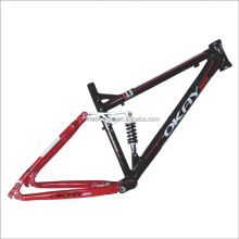 OEM aluminum alloy full suspension mountain bike bicycle frame