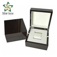 Star box luxury wood watch box custom classic glossy watch box