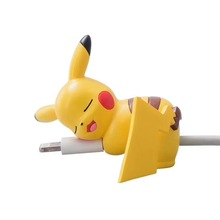 Phone accessories 3D cute cartoon animal bite charge usb cable protector for iphone