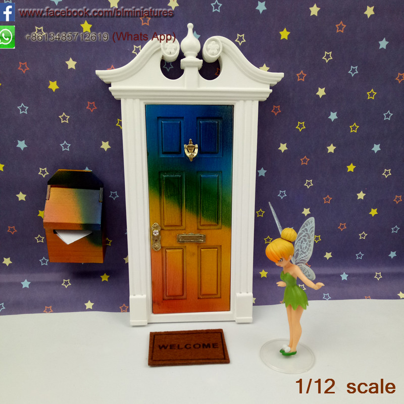 Miniature Multicolour That Open Outward with Mailbox Tooth Fairy Doors Wholesale