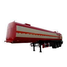 Competitive Fuel semi Truck Trailer Large volume 3 axle Oil tank container semi trailer