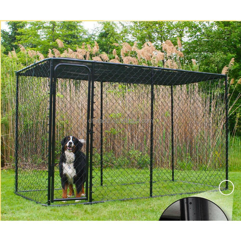 2017 factory galvanized stainless steel dog cage