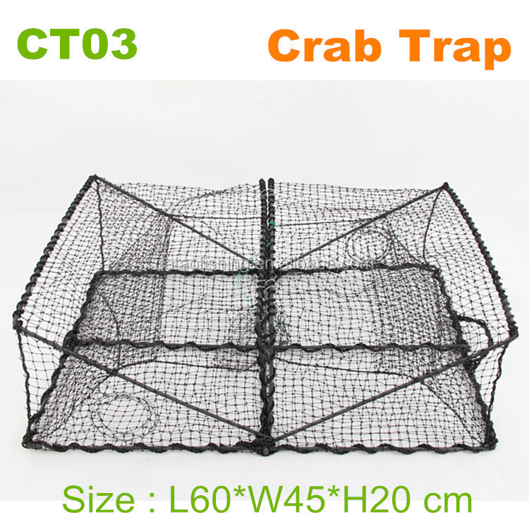 HOT SALE folding fishing stainless steel wire mesh trap