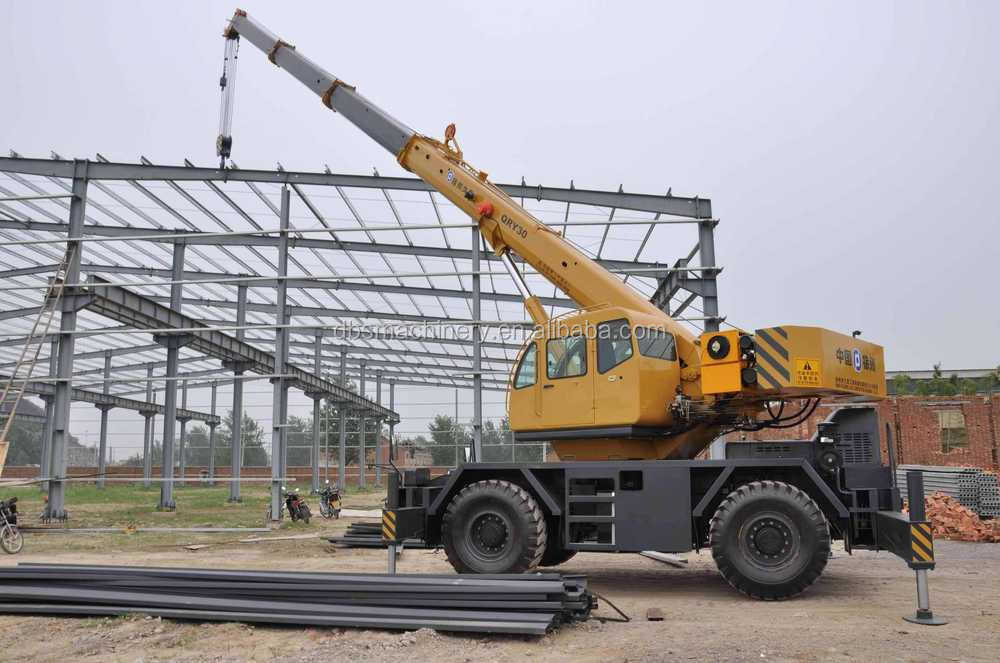 Mobile Crane 50 Ton Dimension : Rough terrain crane qry new cheap price ton mobile
