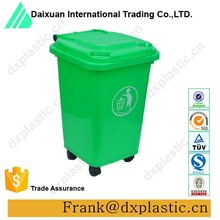 30L New Fashion Household Home and Office Use Plastic Colored Waste Bin blue Trash Can
