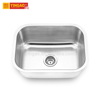 Factory Direct Sale Large 304 Stainless Steel Single Bowl Sink for Kitchen