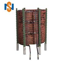 Used for 2 Ton induction furnace Copper induction coils price