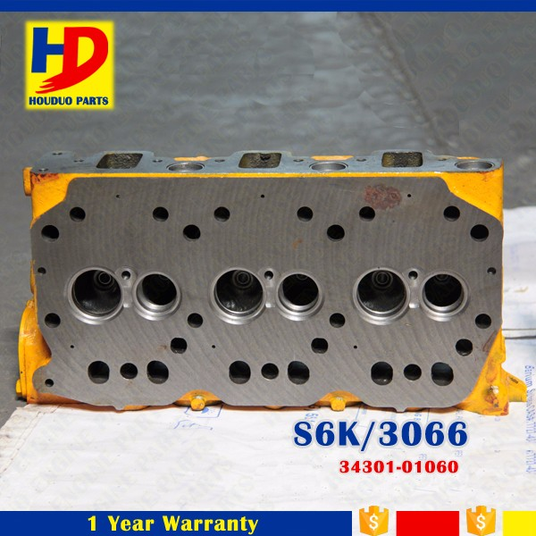 China Supplier Manufacturing Engine S6K Cylinder Head 3066 OEM 34301-01060